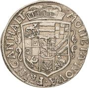 ⅔ Thaler - Johann Georg II., Viktor Amadeus, Wilhelm, Carl Wilhelm and Emanuel Lebrecht – avers