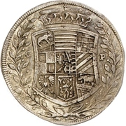 16 Groschen - Johann Georg II., Viktor Amadeus, Wilhelm, Carl Wilhelm and Emanuel Lebrecht – avers