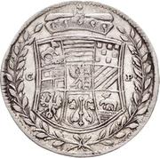 1/12 Taler - Johann Georg II., Viktor Amadeus, Wilhelm, Carl Wilhelm and Emanuel Lebrecht – avers