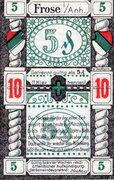10 Pfennig (Frose) – avers