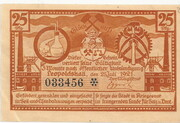 25 Pfennig (Leopoldshall) – avers
