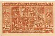 25 Pfennig (Leopoldshall) – revers