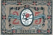 25 Pfennig (Frose) – revers