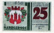 25 Pfennig (Harzgerode) – avers