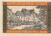 25 Pfennig (Oranienbaum ) – revers