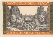 25 Pfennig (Oranienbaum) – revers