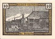 10 Pfennig (Rieder am Ostharz) – revers