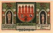 25 Pfennig  (Zerbst) – avers