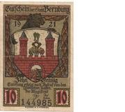 10 Pfennig (Bernburg) – avers