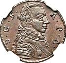 1 Pfenning - Friedrich August – avers