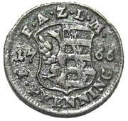 1 Pfennig - Friedrich August – revers
