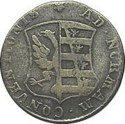 4 pfennig Friedrich August – avers