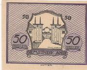 50 Heller (Anif) – revers