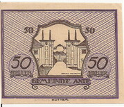 50 Heller (Anif) - 3. Auflage – revers