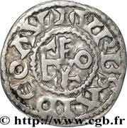 """Denier - Geoffroy II dit """"Martel"""" – revers"""