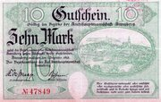 10 Mark (Amtshauptmannschaft Annaberg) – avers