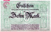 10 Mark (Amtshauptmannschaft Annaberg) – revers