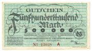500,000 Mark – avers