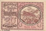20 Heller (Annaberg) – avers