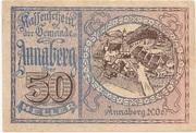 50 Heller (Annaberg) – avers