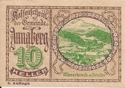 10 Heller (Annaberg) – avers