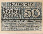 50 Pfennig (Annaberg) – avers
