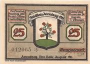 25 Pfennig (Annaburg) – avers