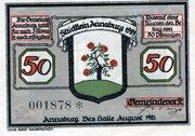 50 Pfennig (Annaburg) – avers