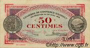 50 centimes - Chambre de Commerce d'Annecy [74] – avers