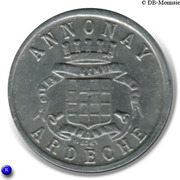 10 Centimes Union Commerciale Industrielle Annonay [07] – avers