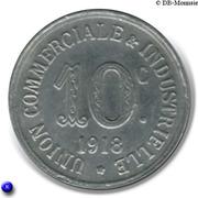 10 Centimes Union Commerciale Industrielle Annonay [07] – revers