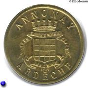 10 Centimes Union Commerciale Industrielle Annonay [07] - ESSAI – avers