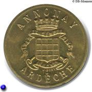 25 Centimes Union Commerciale Industrielle Annonay [07] - ESSAI – avers
