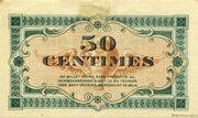 50 centimes - Chambre de commerce d'Annonay [07] – revers