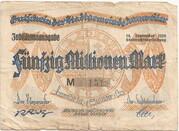 50,000,000 Mark (Annweiler) – avers