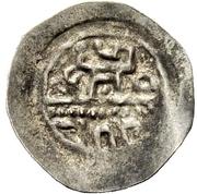 1 Denar - Friedrich II. – revers