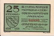 25 Pfennig (Ansbach) – avers
