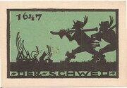 25 Pfennig (Ansbach) – revers