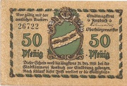 50 Pfennig – avers
