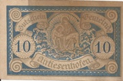 10 Heller (Antiesenhofen) -  avers