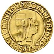 2 Ducat - Giovanni Bentivoglio II – avers