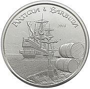 2 dollars (Rum Runner) -  revers