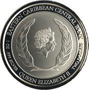 2 Dollars - Elizabeth II (Rum Runner) – avers