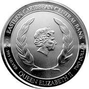2 Dollars - Elizabeth II Rum Runner – avers