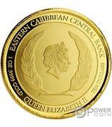 10 Dollars - Elizabeth II (Rum Runner) – avers