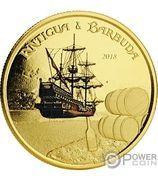 10 Dollars - Elizabeth II (Rum Runner) – revers