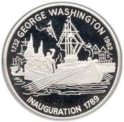30 dollars (Inauguration 1789) – revers