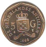 5 gulden - Beatrix – revers