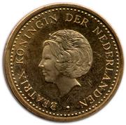 5 Gulden (50 jaar statuut voor het koningrijk der Nederlanden) – avers