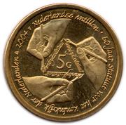 5 Gulden (50 jaar statuut voor het koningrijk der Nederlanden) – revers